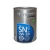 0w20 TOYOTA SN/GF-5 1л синтетика металл. банка