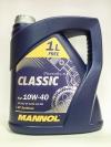 10w40 MANNOL Classic A3/B4 4л полусинтетика