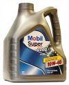 10w40 MOBIL Super 2000 Diesel 4л. полусинтетика