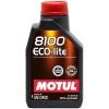 5w30 MOTUL 8100 Eco-lite 1л синтетика