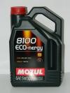 5w30 MOTUL 8100 Eco-lite 4л синтетика