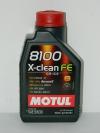 5w30 MOTUL 8100 X-clean FE C2/C3 1л синтетика