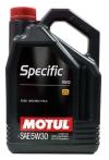5w30 MOTUL SPECIFIC 913D 5л синтетика