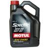 5w30 MOTUL SPECIFIС 504 00/507 00 5л синтетика