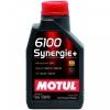 5w40 MOTUL 6100 Synergie+ 1л полусинтетика