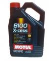 5w40 MOTUL 8100 X-cess 4л синтетика