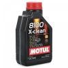 5w40 MOTUL 8100 X-clean 1л синтетика